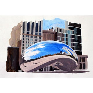 Contemporary Giclee Print - The Bean Illustration