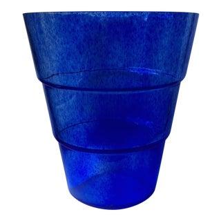 Ann Wåhlström Blue Art Glass Kosta Boda Mezzo Vase