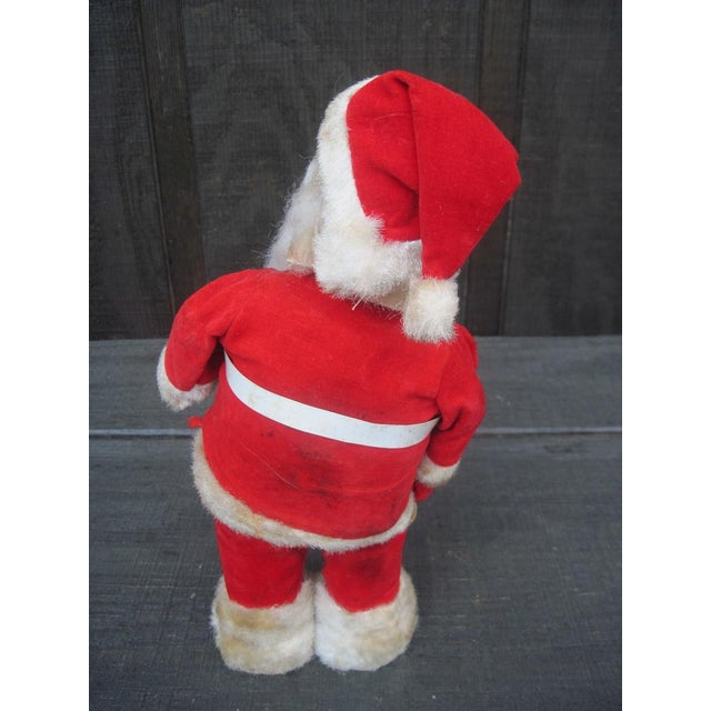 S santa claus battery operated toy chairish