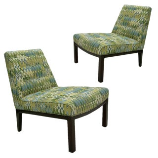Edward Wormley for Dunbar Slipper Chairs - A Pair
