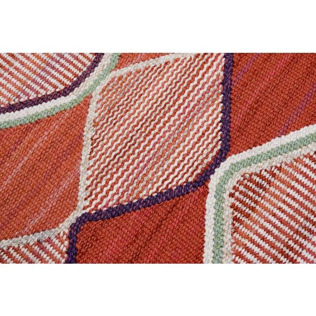 Vintage Barbro Nilsson Flat-Weave Swedish Carpet for Marta Maas-Fjetterström - Image 7 of 10