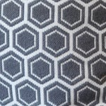 Image of Needlepoint Hex Pillow