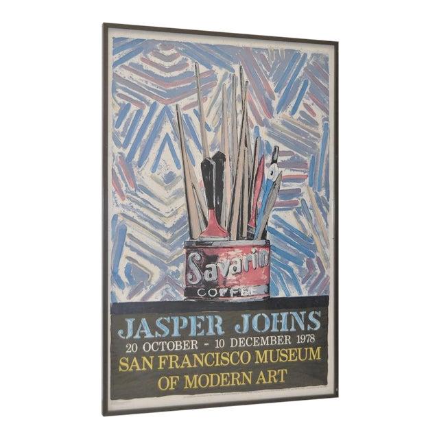 Jasper Johns Exhibition Poster C.1978 - Image 1 of 7