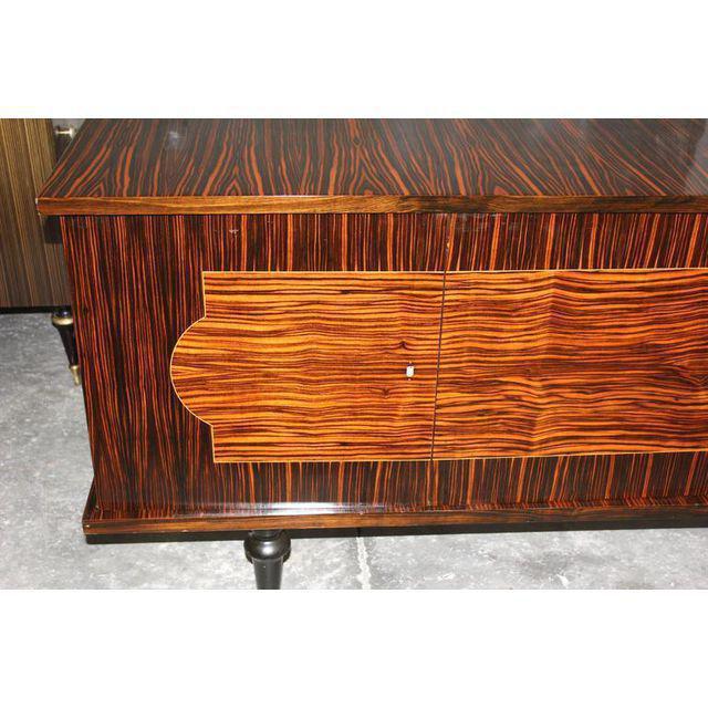 French Art Deco Macassar Ebony Sideboard - Image 2 of 10