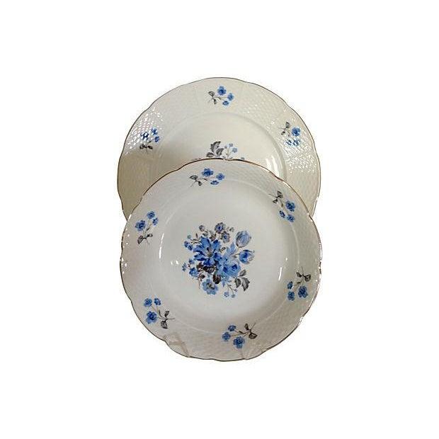 Vintage Blue & White Floral Bohemia China - 18 - Image 2 of 7