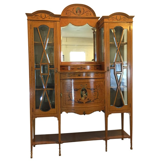 Antique European Display Hutch - Image 1 of 11
