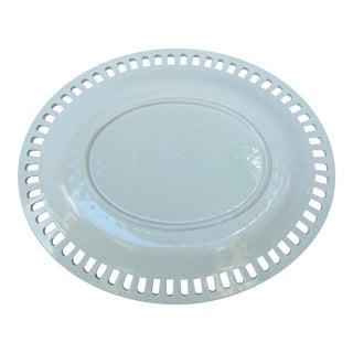 English Wedgwood Creamware Platter