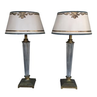 Waterford Crystal Table Lamps- A Pair