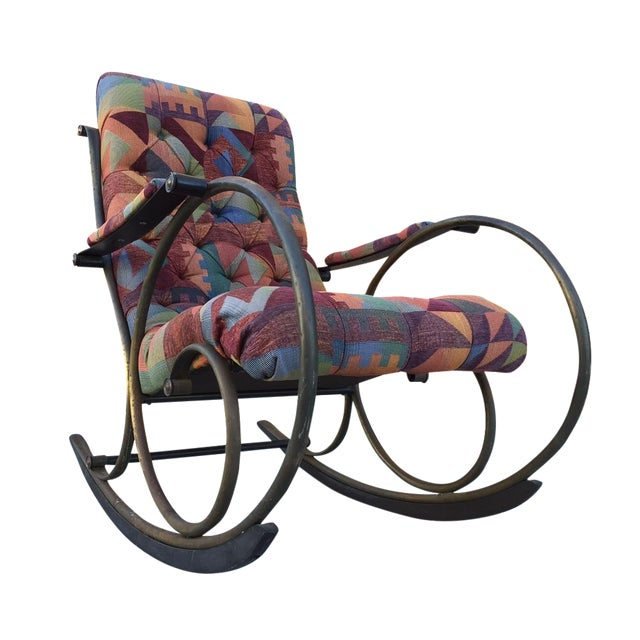Lee Woodward Rocking Chair - Image 1 of 5