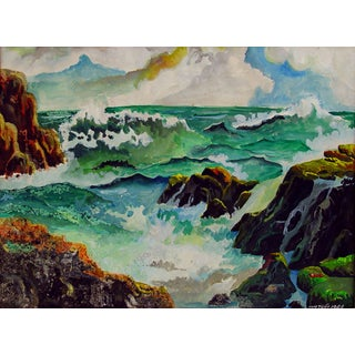 Seascape Painting by Anh Tuan