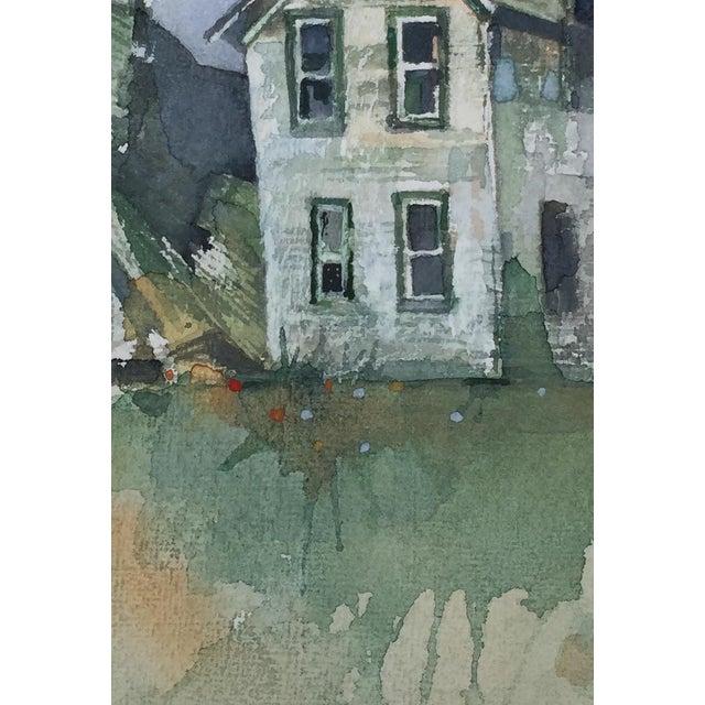 """""""Dakota Farm"""" Original Watercolor - Image 3 of 3"""