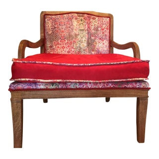 Boho Club Chair