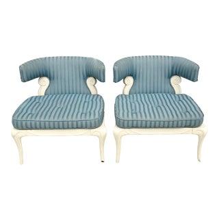Grosfeld House Slipper Chairs - A Pair