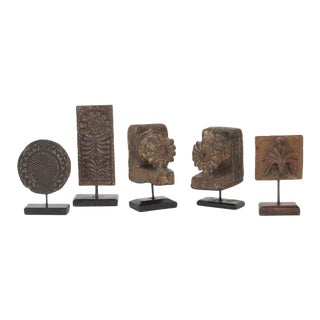 Group of Five Architectural Relics or Ornaments