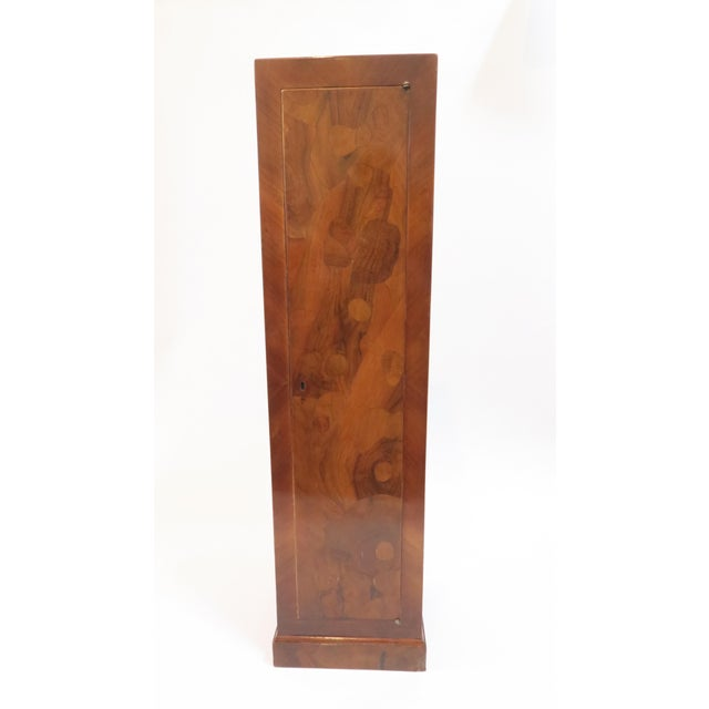 Image of Traditional Burlwood Pedestal