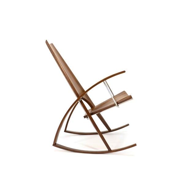Leon Meyer Studio Craft Rocking Chair Chairish