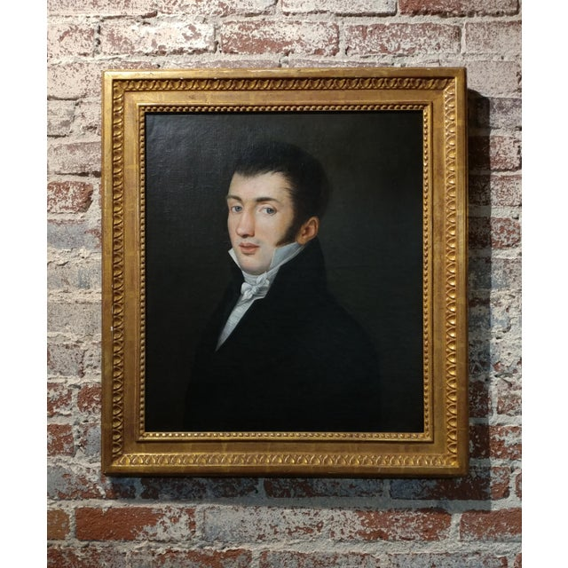 18th Century Portrait Oil Painting - Image 2 of 10