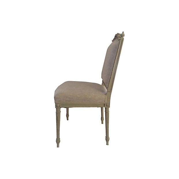 Petite French Side Chair - Image 3 of 7