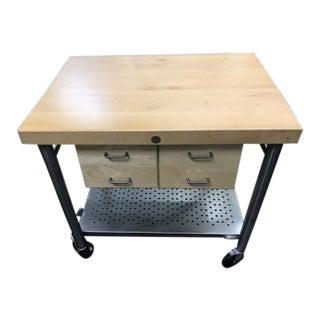 John Boos Americana Kitchen Island Butcher Block