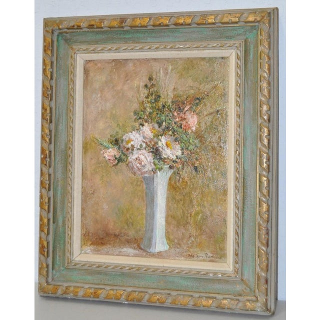 Troy Ruddick Vintage Floral Still Life Painting, C.1965 - Image 3 of 7