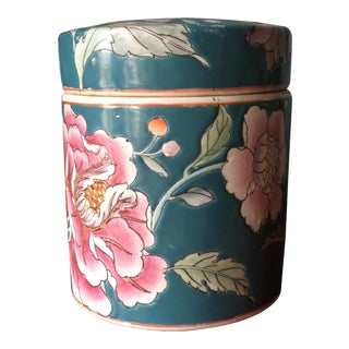 Chinoserie Style Floral Box