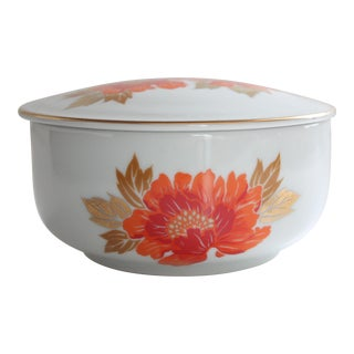 Vintage Japanese Lidded Bowl