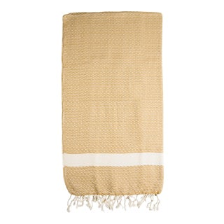 Hand Loomed Organic Cotton & Turkish Towel
