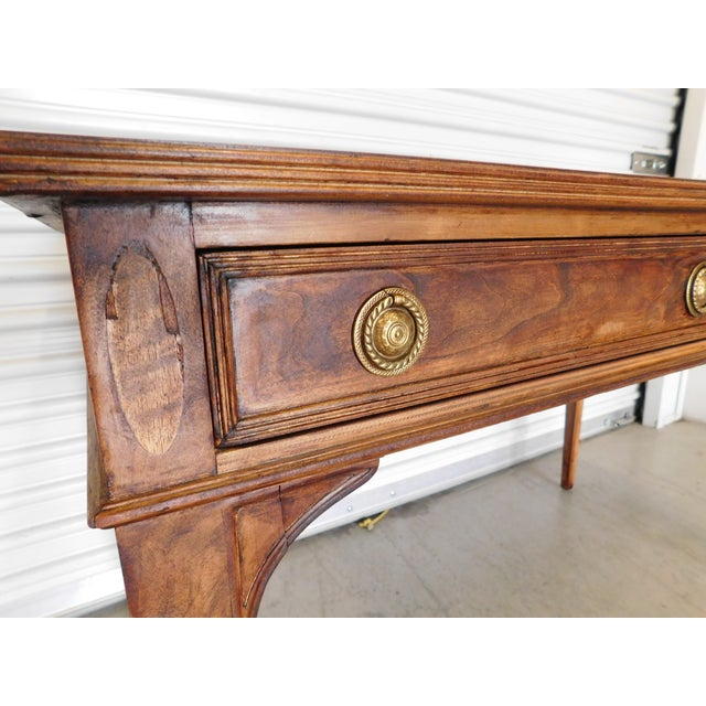 Vintage Henredon Wooden Desk - Image 11 of 11