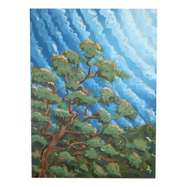 """Sugar Oak"" Acrylic on Canvas - Image 1 of 8"