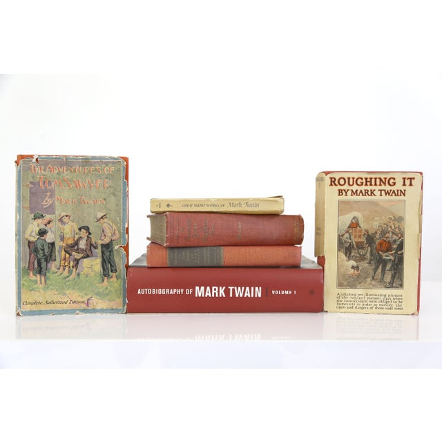 Mark Twain Books, Antique to Modern - Set of 6 - Image 3 of 11