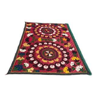 Handmade Colorful Suzani Textile