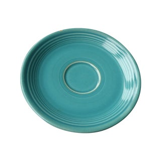 Vintage Turquoise Fiestaware Saucer