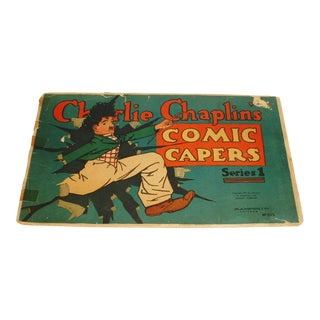 1917 Charlie Chaplin Giant Comic Capers Comic Book Number 1