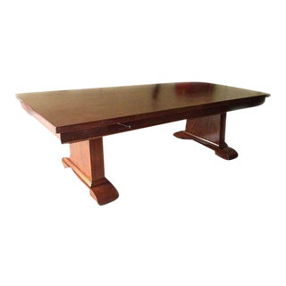 Solid Mahogany Dining Conference Table