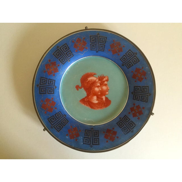 Vintage Hand Painted Grecian Decorative Wall Plate - Image 3 of 9