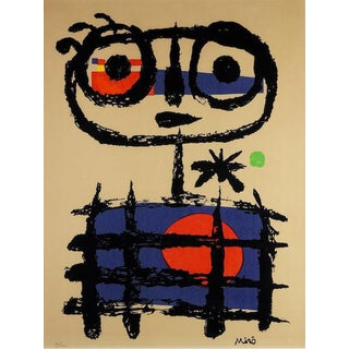 Joan Miro Numbered Lithograph