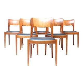 Niels Koefoed Teak Dining Chair - Set of 6