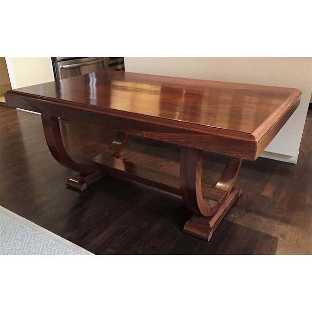 French Art Deco Dining Table - Image 3 of 4
