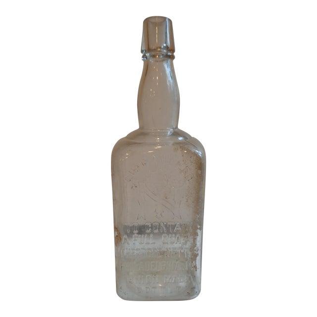 Vintage 1890s Theodore Netter Philadelphia Whiskey Bottle - Image 1 of 4