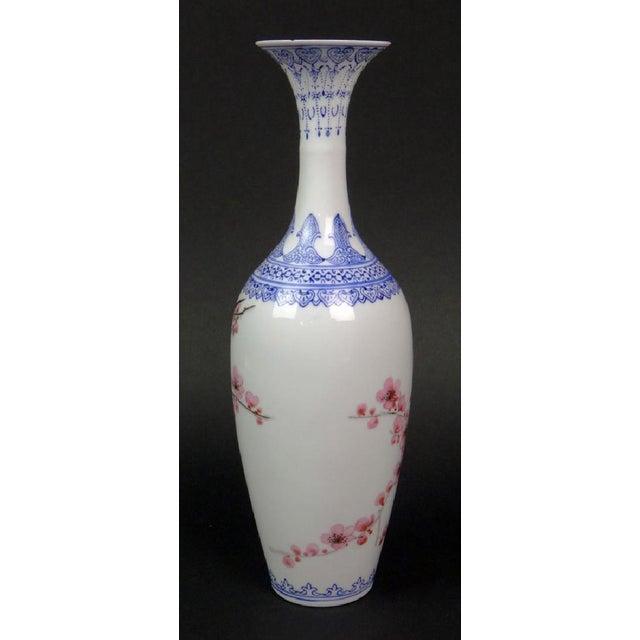 """Antique Chinese """"Eggshell"""" Porcelain Vase - Image 4 of 7"""