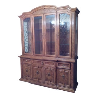 Thomasville Solid Cherry China Cabinet