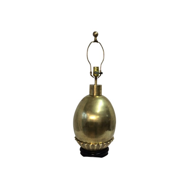Chapman Vintage Brass Lamp - Image 1 of 6