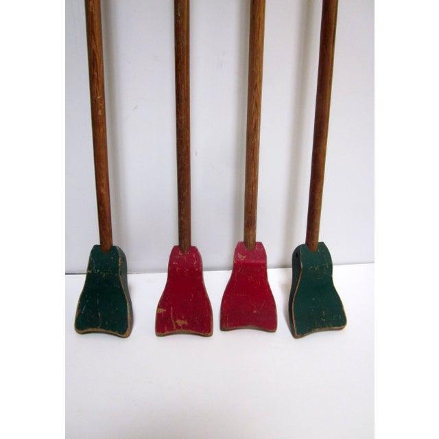 1940s Folk Art Shuffleboard Sticks - Image 6 of 8