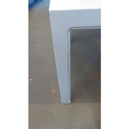 Parsons Style End Tables - A Pair - Image 4 of 5