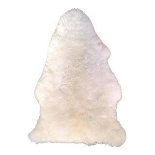 "White Sheepskin Rug - 2'4"" X 3'2"""