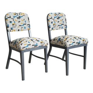 Vintage Industrial Chairs - a Pair