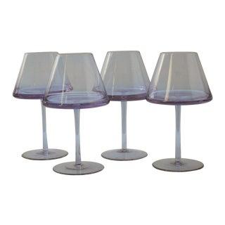 Karim Rashid UFO Lavender Goblets - Set of 4