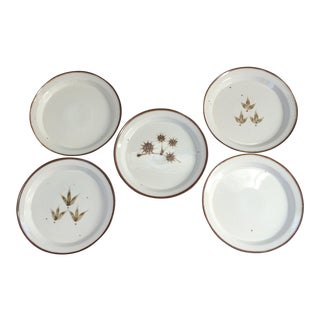 Dansk Stoneware Plates - Set of 5