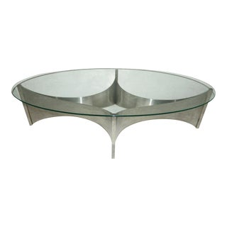"French Maison Charles ""Voiles"" Coffee Table"