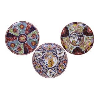 Imari Wall Plates - Set of 3